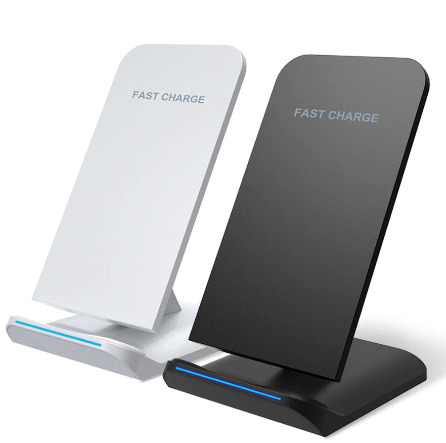 QI Wireless Phone Charging Stand 5V Fast Charger 2A Turbocharger for QI Enabled Mobiles